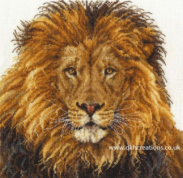 Lions Pride Cross Stitch Kit